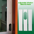 3pcs Adjustable Window Slide Kit Plate For Portable Air Conditioner Wind Shield