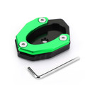 Side Stand Kickstand Pad Extension Plate For KAWASAKI Z900RS CAFE 18-19 Versys 1000 17-18 Green