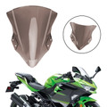 ABS Plastic Windshield Windscreen For Kawasaki 2018-2019 Ninja 400 Smoke