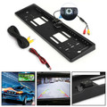 170¡ãHD Car Rear View Reverse CDD Camera Backup Parking Plate Night Vision IR LED