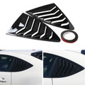 Side Window Louver For Scion FRS Subaru BRZ Toyota 86 GT86 AE86 13-18 GlossBlack