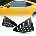 Side Window Louver For Scion FRS Subaru BRZ Toyota 86 GT86 AE86 13-18 Carbon