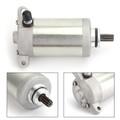 Starter For Kawasaki KLF220 Bayou 220 88-02 215cc KLF250 Bayou 250 03-11 228cc Silver