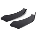 Universal Front Bumper Lip Body Kit Spoiler For Honda Civic BMW Benz Mazda GMC Black