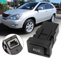 AUX Auxiliary Stereo Adapter 86190-53010 86190-06010 For Toyota Lexus 2007-2009 Black