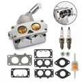 Carburetor with Gasket 791230 799230 699709 499804 For Briggs & Stratton 20-25 Silver