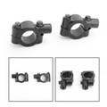"8mm M8 Motorbike 7/8"" HandleBar Mirror Mount Holder Clamp Adaptor Universal CW"