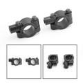 "8mm M8 Motorbike 7/8"" HandleBar Mirror Mount Holder Clamp Adaptor Universal CCW"