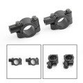 "8mm M8 Motorbike 7/8"" HandleBar Mirror Mount Holder Clamp Adaptor Universal CCW"