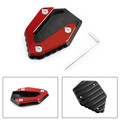 Kickstand Side Stand Extension Pad For YAMAHA MT-07 FZ-07 TRACER 700 14-19 Red