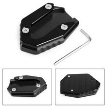 Side Stand Kickstand Enlarger Plate For YAMAHA MT-09 FZ-09 FJ-09 14-19 TRACER 900 15-19 900GT 18-19 Black