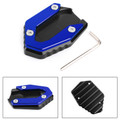 Side Stand Kickstand Enlarger Plate For YAMAHA MT-09 FZ-09 FJ-09 14-19 TRACER 900 15-19 900GT 18-19 Blue