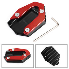 Side Stand Kickstand Enlarger Plate For YAMAHA MT-09 FZ-09 FJ-09 14-19 TRACER 900 15-19 900GT 18-19 Red