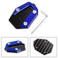 Side Stand Kickstand Enlarger Plate For YAMAHA YZF R25 R3 MT-25 MT-03 2014-2019 Blue
