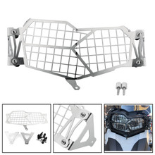 Stainless Steel Headlight Guard Grill Protector For BMW F750GS F850GS 18-19 Silver