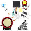 Anti-theft Security Alarm System Remote Control Engine Start Motorcycle Scooter