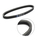 Drive Belt For Polaris 600 Dragon 09-10 IQ LXT 11-15 Shift 09-12 Touring 08-10 Indy 13-19 LX 10 Rush 10-14 Assault 144in 14 Adventure 12 Black
