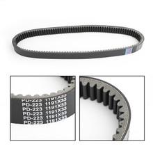 Drive Belt Transmission Belt For John Deere Gator XUV 825I S4 855D 15-18 M-Gator A-3 16-17 Black