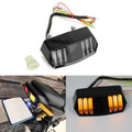 LED Tail Light Integrated Turn Signal For Honda CBR650F CTX700 CTX700N MSX125 MSX125SF Clear