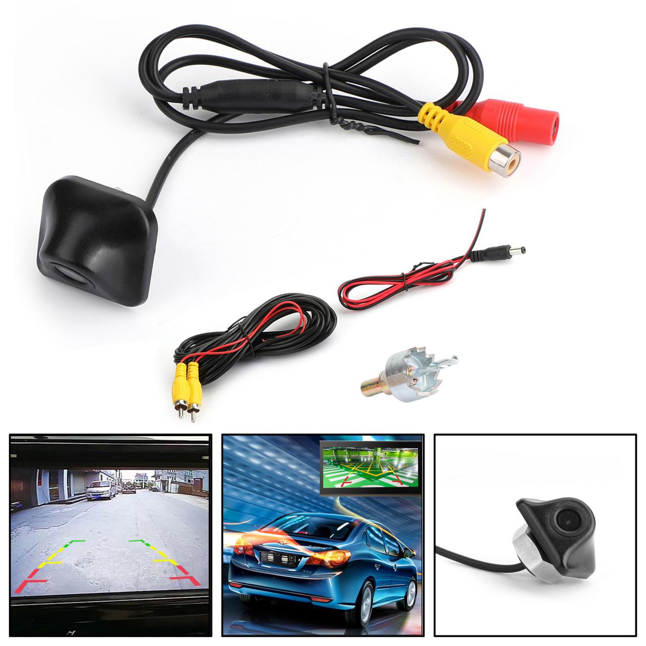 170°Anti Fog Waterproof Backup Night Vision Car Rear View Parking Camera Kit USA