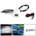 170 Degree HD Car Rear View Reverse CDD Backup Parking Camera CMOS Night Vision White