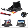 "HD Reverse Car Camera + 4.3"" TFT LCD Monitor Kit Vehicle Security System"