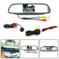 "HD Reverse Car Camera + 4.3"" Mirror Monitor Kit Vehicle Security System"