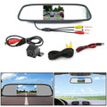 "8 LED Reverse Parking Camera + 4.3"" Mirror Monitor Kit Vehicle System"