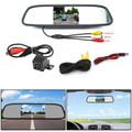 "8 LED Reverse Parking Camera + 4.3"" Mirror Monitor Kit Vehicle System"