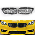 Front Kidney Grille Grills for BMW F30 328i 335i 12-16 Chrome