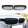 Diamond Front Upper Grille For BMW 4 Sereis F32 F33 F36 F82 M4 All Models 14-18 Black