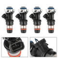 Delphi Fuel Injectors 4pcs For GMC Sierra 1500 2500 3500 Envoy 01-06