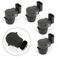 4PCS Parking Park Sensor For Mini Cooper S Works 07-11 Clubman 08-11 Convertible 09-11 Black