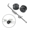 Transfer Case Shifter Linkage Rod & Bushings Kit For RAM 1500 2500 3500 LARAMIE SLT EXTENDED OUTDOORSMAN CAB SXT