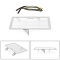 Stainless Steel Radiator Guard Protector Grill Cover For Honda CBR250R 11-15 CBR300R 15-18 Silver