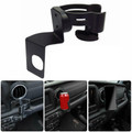 Multi-Function Drink Cup CellPhone Mount Holder Stand For Wrangler JL Sport Sports Sahara Unlimited & JL Rubico 18-19 Black