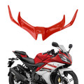 Front Aerodynamic Winglet For YAMAHA YZF-R15 V3.0 17-19 Red