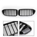 Front Kidney Grille Grill for BMW 5 Series 530i 540i G30 2017-2019 GBlack