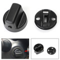 Ignition Key Knob Push Turn Switch & Base Mount Set For Mazda CX-9 07-14 CX-7 07-12 speed 6 06-07 Black