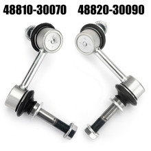 Front Right+Left Side New Sway Bar Links Set Of 2 Pair for Lexus GS300 06 GS350 07-11 GS430 06-07 GS450h 07-11 GS460 08-11 IS250 10-15 IS350 11-13 IS350 14-15 Silver