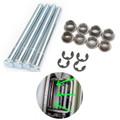 Door Hinge Pin Bushing Kit For GMC S15 Pickup GMC Sonoma 95-04 Jimmy 95-01