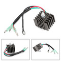 Voltage Regulator Rectifier For Yamaha Outboard Motors 15EL 15ELH 15ES 15ESH 20MLH 25EL 25ELR 25ESH 25L 9.9EL 9.9ELR 9.9S