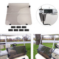 Folding Acrylic Golf Cart Windshield For Club Car DS Fold Down 1982-2000 Smoke