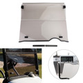 Folding Golf Cart Smoke Windshield Windscreen For EZGO RXV MODELS 2008-2019 Smoke