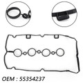 Valve Cover Gasket For CHEVROLET SONIC LTZ HATCHBACK 4-DOOR SEDAN 4-DOOR 12-14 PONTIAC G3 BASE HATCHBACK 4-DOOR SEDAN 4-DOOR 09-10 Black