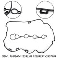 Valve Cover Gasket 12609291 For Buick Lacrosse Regal Verano Chevrolet Captiva Sport Equinox GMC Terrain 2.4L Black
