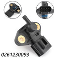 Fuel Injection Rail Pressure Sensor For Ford Mustang 07-14 Crown Victoria Lincoln Town Car 07-11 Black