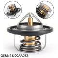 Thermostat & Gasket For Outback and Legacy 90-11 Impreza AND wrx and sti 93-11 Forester 98-11 Baja 03-06 subaru 90-12