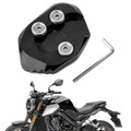 Kickstand Side Stand Extension Pad Plate For HONDA CB1000R 18-19 Black