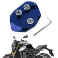 Kickstand Side Stand Extension Pad PlateFor HONDA CB1000R 18-19 Blue